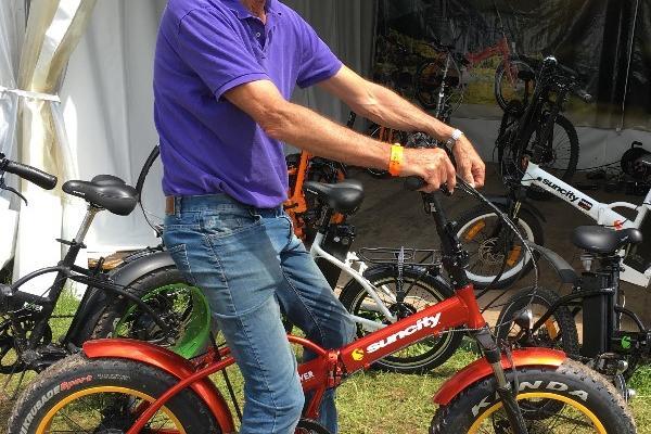 Saumur Complet a accueilli le Fat Bike de Sun City Nantes :  Carton plein dans la forêt !