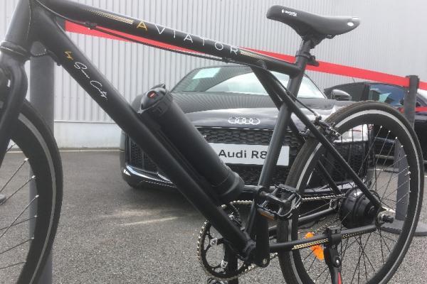 Audi Nantes a exposé  ce week-end des VAE  lors de ces portes ouvertes