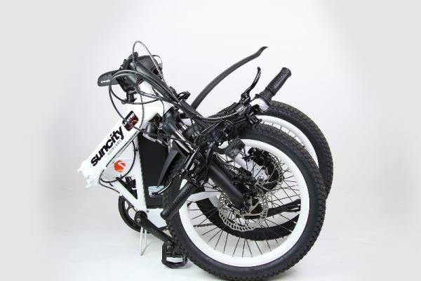 Emmener partout avec vous votre vélo à assistance électrique pliant, c'est la liberté !